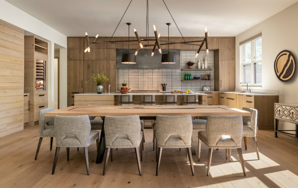 Kitchen Penthouse Interior Design Telluride Co River And Lime