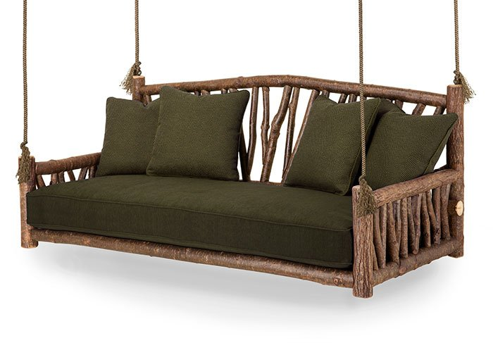 Rustic Porch Swings Hanging Daybeds Mountain Living