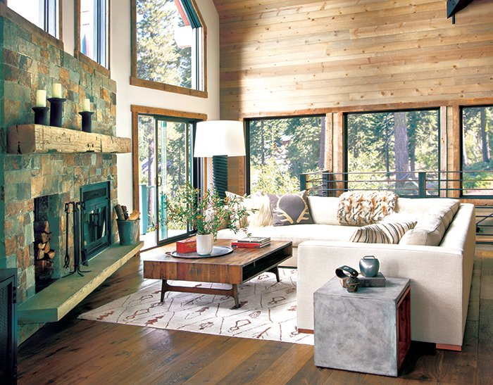 Rustic Modern Interior Design Archives Mountain Living