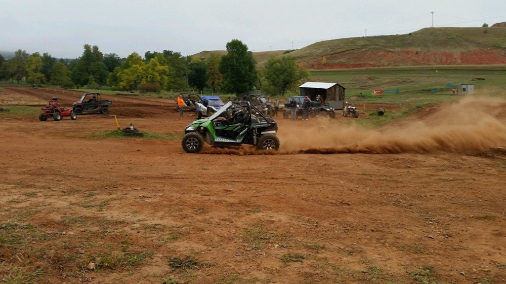 ATV and UTV riders from across the Midwest gather in Sturgis for the second annual Off-road rally on Sept. 23, 2018.