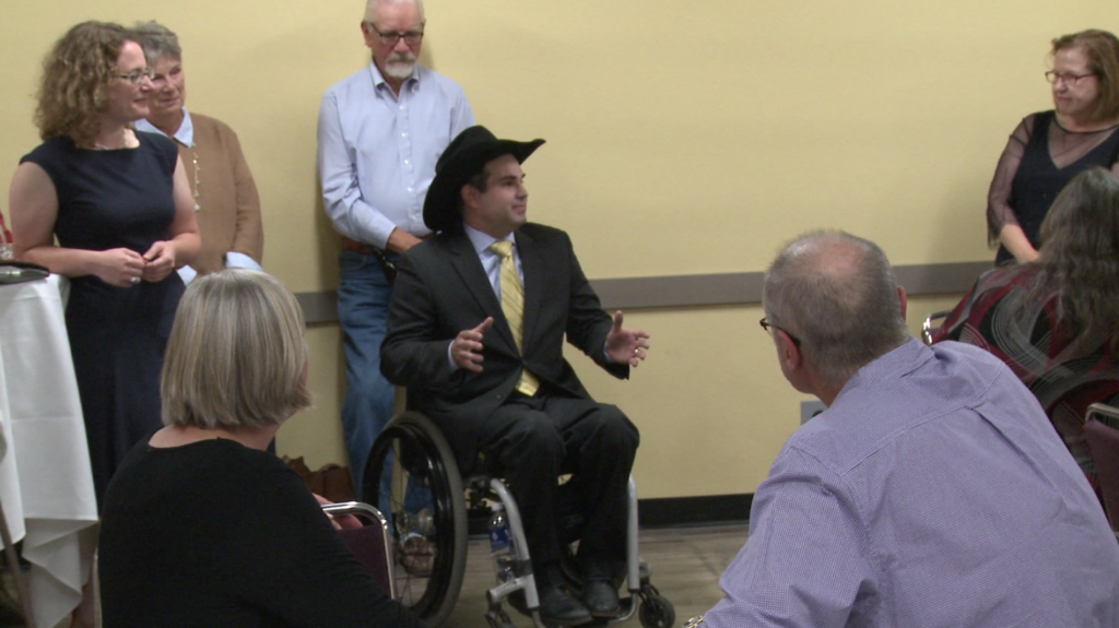 Billie Sutton, Randy Seiler, and Tim Bjorkman visit Rapid City to meet with voters and reiterate their platforms ahead of the November Midterm Elections on Sept. 23, 2018.