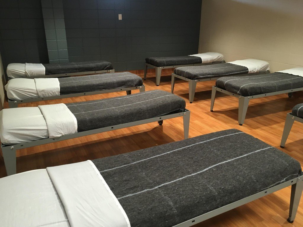 Beds at the new Care Campus in Rapid City. Photo date: Sept. 24, 2018.