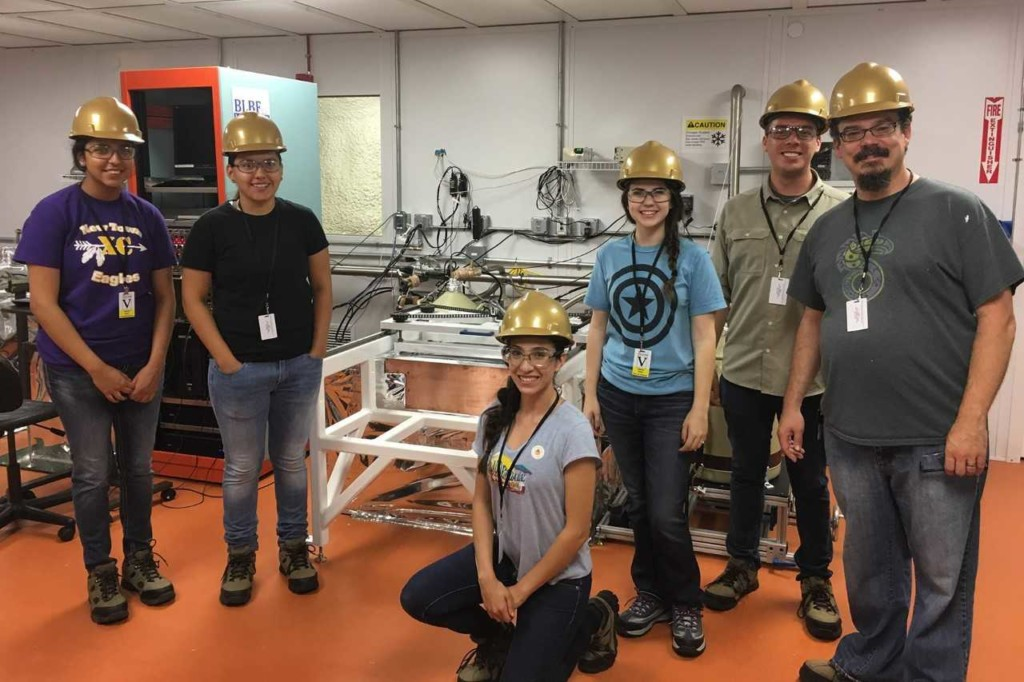 Black Hills State University students and alumni visit the Jinping Underground Lab in China in the summer of 2018.