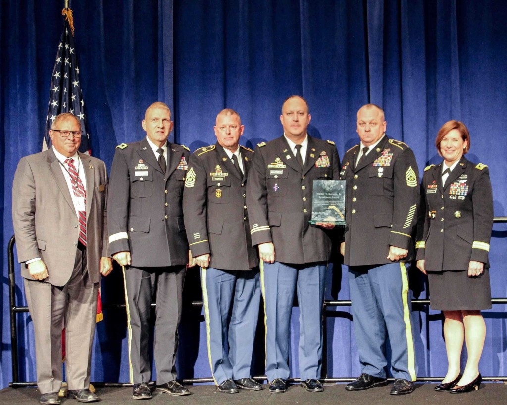 The 152nd Combat Sustainment Support Battalion which is based in Pierre receives a major award.
