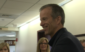 John Thune visits Regional Health Rapid City Hospital on Nov. 20, 2018.