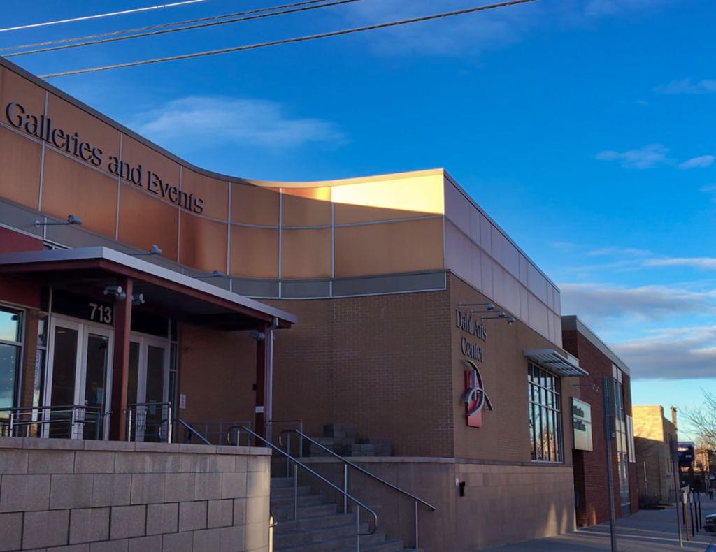 Exterior of the Dahl Arts Center. The Dahl hosts many programs of the Rapid City Arts Council, which received a $60,000 donation from the Vucurevich Foundation. Photo Date: Dec. 22, 2018.