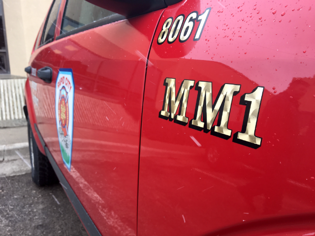 As the Rapid City Legal and Finance Committee has authorized a resolution to write off more than $1.7 million in unpaid ambulance bills, the RCFD's Mobile Medic is streamlining emergency medical services, saving the department money. Photo Date: Apr. 3, 2018.