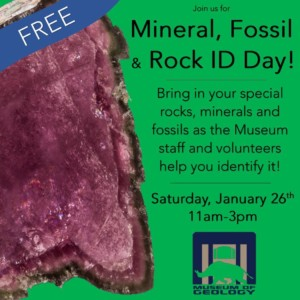 Mineral, Fossil and Rock ID Day @ Museum of Geology | Rapid City | South Dakota | United States