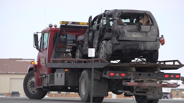 Seven people injured in four-car accident on Highway 44 - KNBN