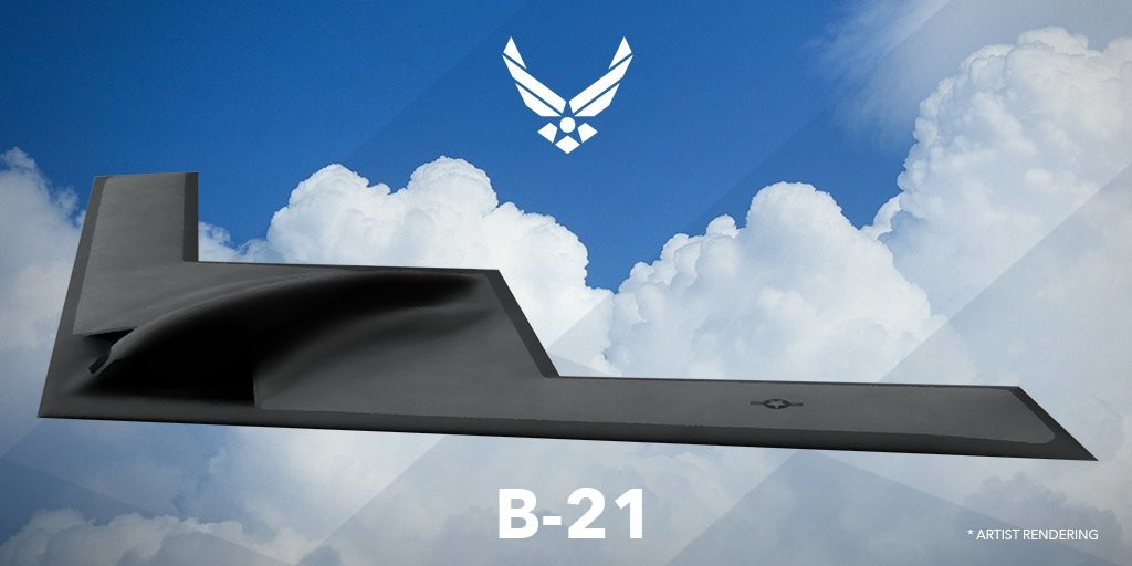 Picture of a B-21 Raider