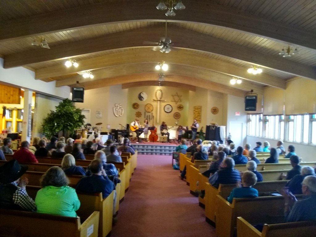 Black Hills Bluegrass Association members perform at the On Common Ground Church