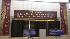 Entrance to the future Traders Market inside the Rushmore Mall