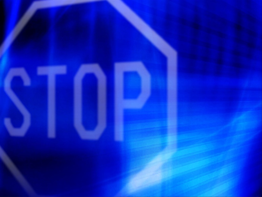 picture of a stop sign - MGN