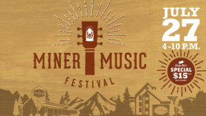 Miner Music Festival @ Miner Brewing Company  | Hill City | South Dakota | United States