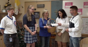 STM Students donate to Make-A-Wish