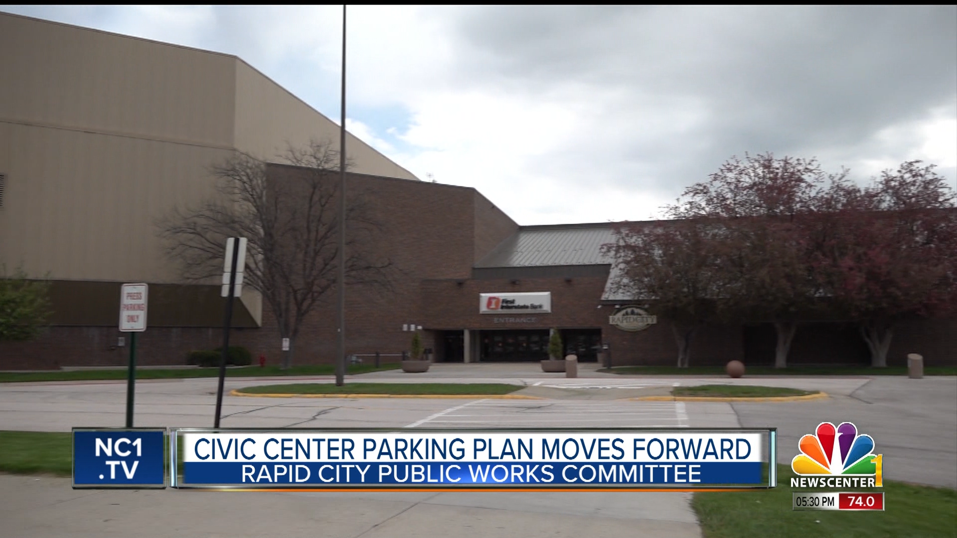 Officials work on parking issues at civic center ahead of ...