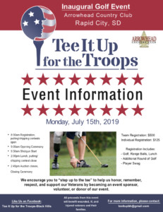 Tee It Up for the Troops-Black Hills @ Arrowhead Country Club | Rapid City | South Dakota | United States