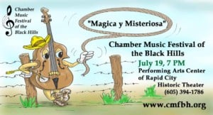 Chamber Music Festival of the Black Hills @ Performing Arts Center of Rapid City | Rapid City | South Dakota | United States