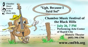 Chamber Music Festival of the Black Hills @ Performing Arts Center of Rapid City   Rapid City   South Dakota   United States