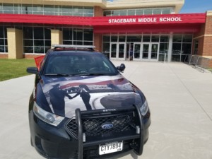 Summerset PD's new School Resource Officer vehicle