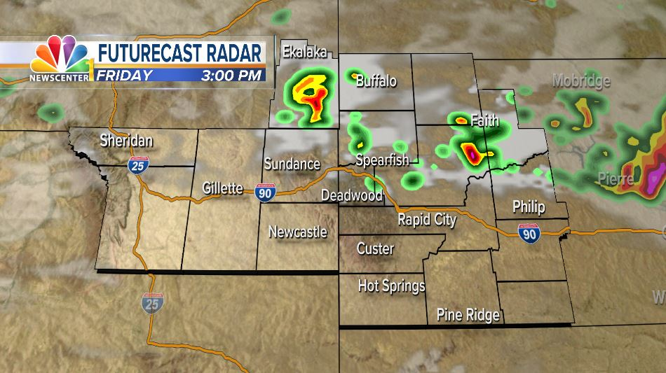 Friday Rally Forecast: Afternoon Boomers North and East of