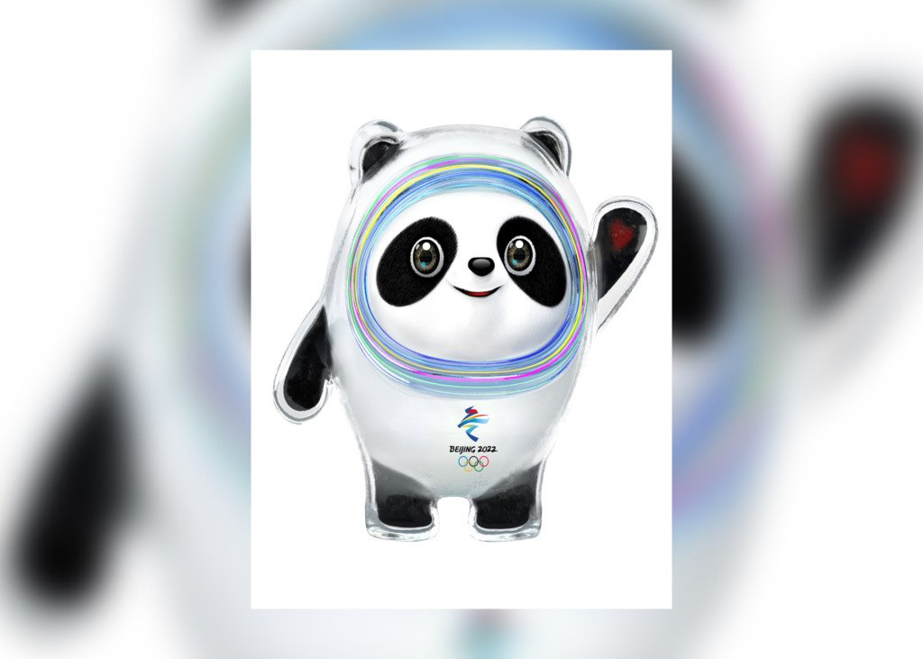 a panda is the mascot for the 2022 beijing winter olympics. Black Bedroom Furniture Sets. Home Design Ideas