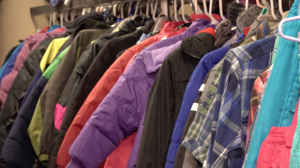 Coats at the Clothing Closet