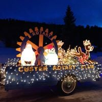 Custer Parade of Lights, Courtesy Facebook