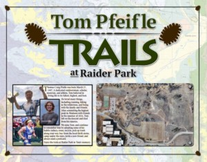 Tom Pfeifle Trail at Raider Park