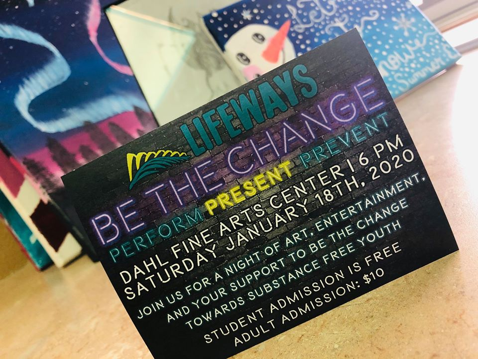 Be the Change flyer, courtesy Facebook
