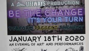 Be the Chance event flyer