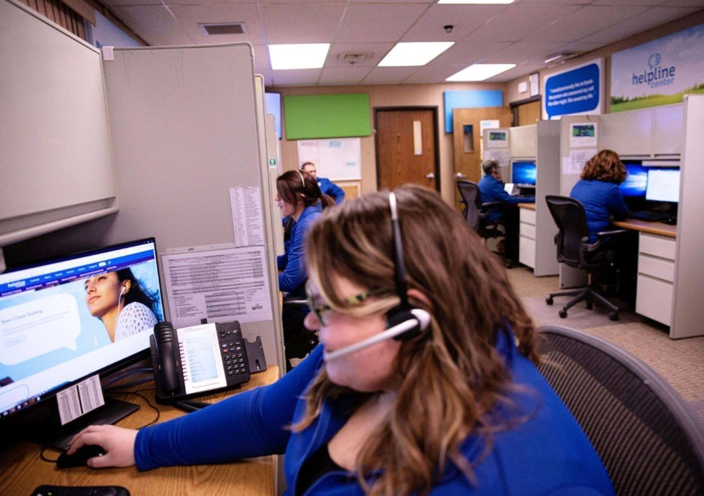 211 Helpline Call Center, Courtesy Facebook