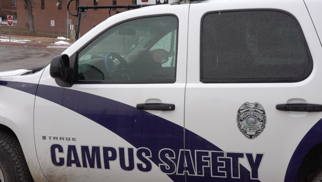 SDSM&T campus safety vehicle