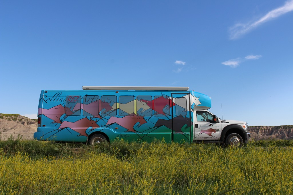 Rolling Rez Art Bus