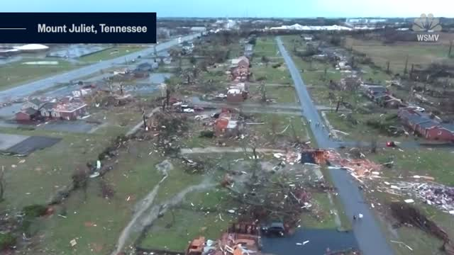 Nashville Tornado 9 Deaths