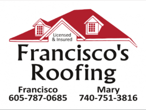 Franciscos Roofing Logo