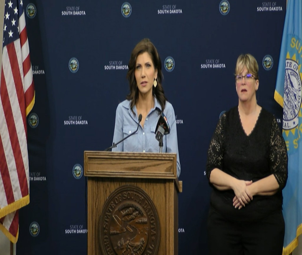 Noem Back To Normal Briefing