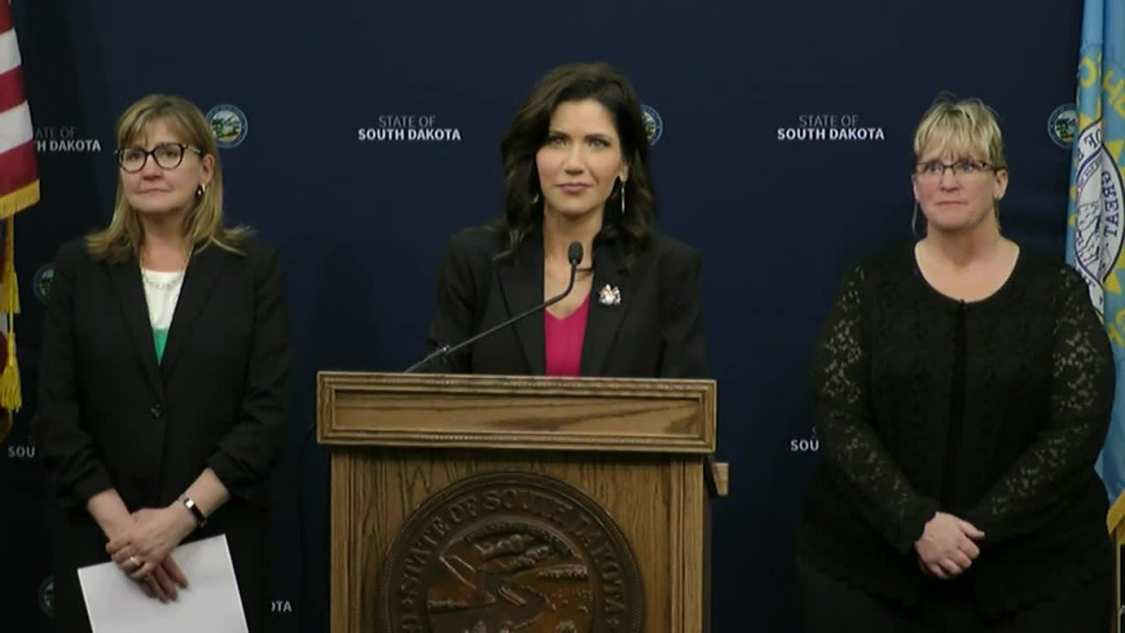 Watch: Gov. Noem Gives Sd Covid 19 Response Update