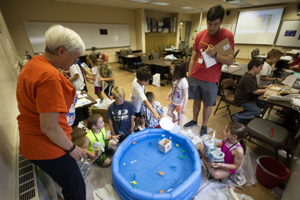 BHSU STEM Camp, courtesy BHSU