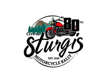80th Motorcycle Rally Logo