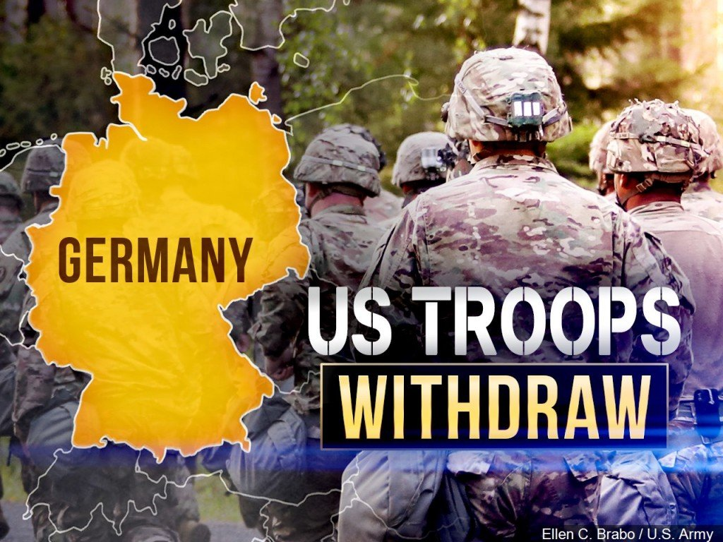 Germany Troop Withdrawl