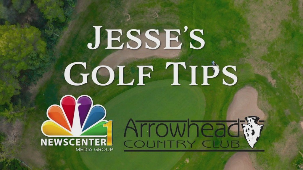 Jesse's Golf Tips Executing The Swing
