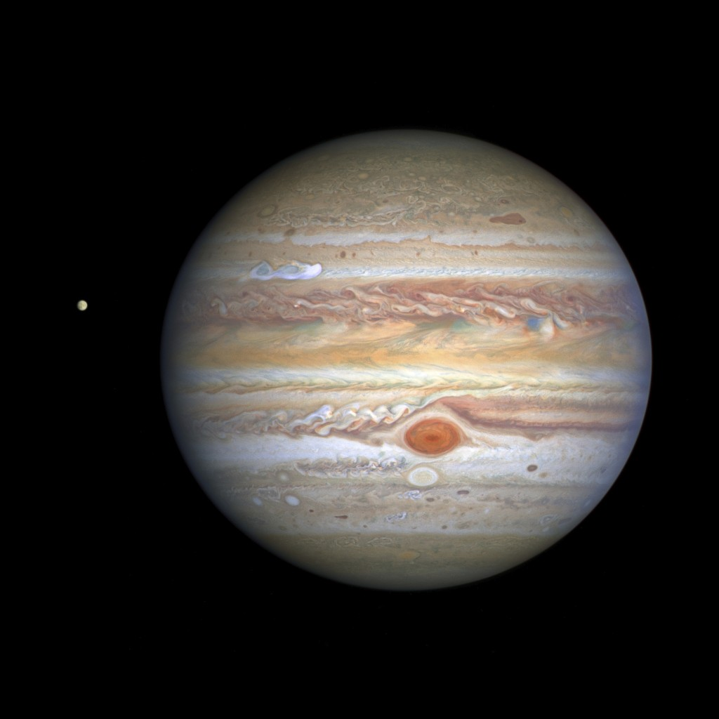 Space Hubble Jupiter Portrait