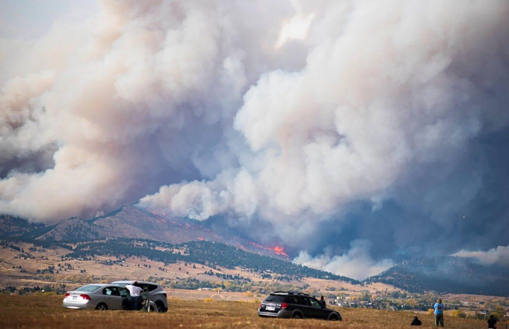 Rockies Wildfires