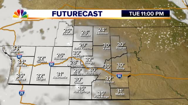 042 Ed Futurecast Temps