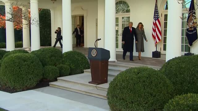 President Trump Continues Turkey Pardon Tradition