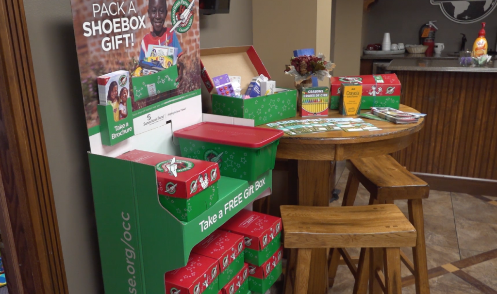 Operation Christmas Child, Dove Christian Center