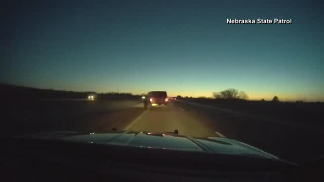 Ne Icy Road Dashcam