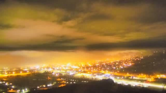 Dense Fog Rolls Into Rapid City 1 25