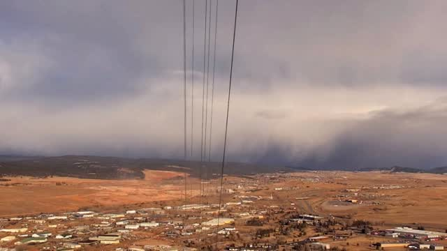 Timelapse: Snow Squall Move In To Rapid City 2 24 2020